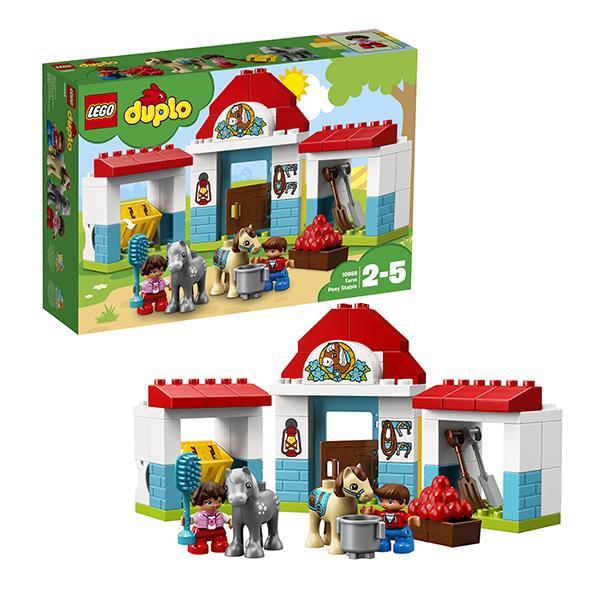 Конструктор LEGO Duplo (арт. 10868) «Конюшня на ферме»