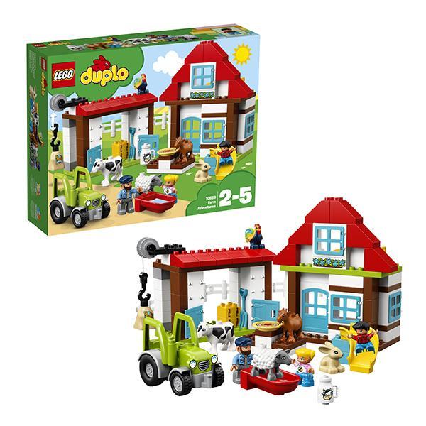 Конструктор LEGO Duplo (арт. 10869) «День на ферме»