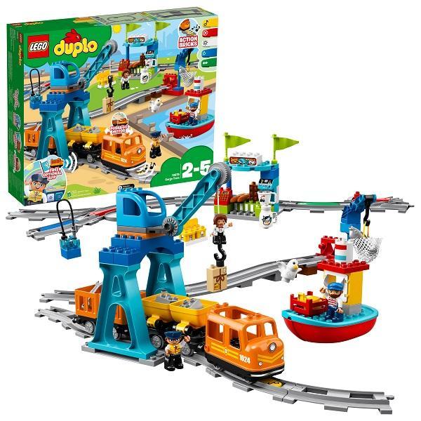 Конструктор LEGO Duplo (арт. 10875) «Грузовой поезд»