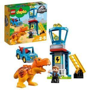 Конструктор LEGO Duplo (арт. 10880) «Jurassic World: Башня Ти-Рекса»