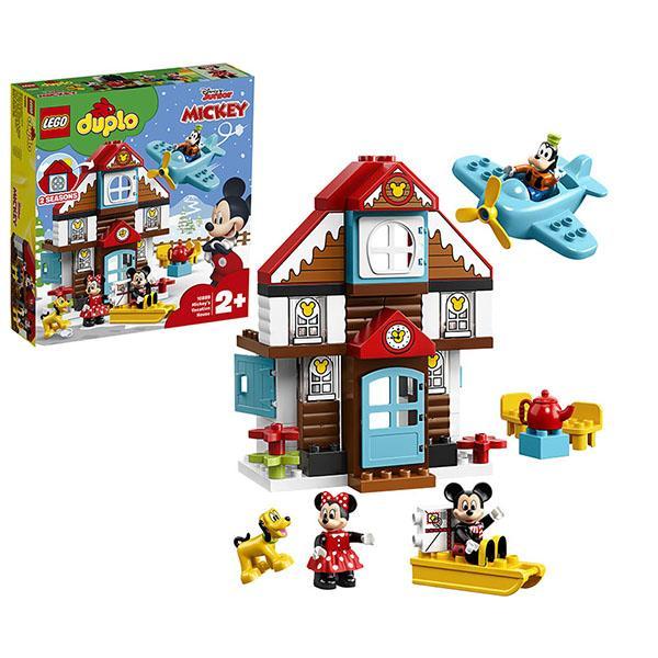 Конструктор LEGO Duplo (арт. 10889) «Летний домик Микки»