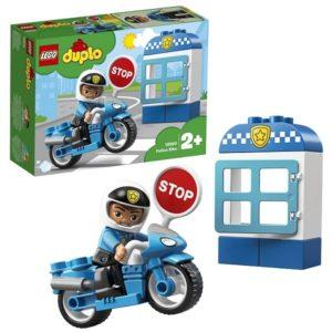 Конструктор LEGO Duplo (арт. 10900) «Полицейский мотоцикл»