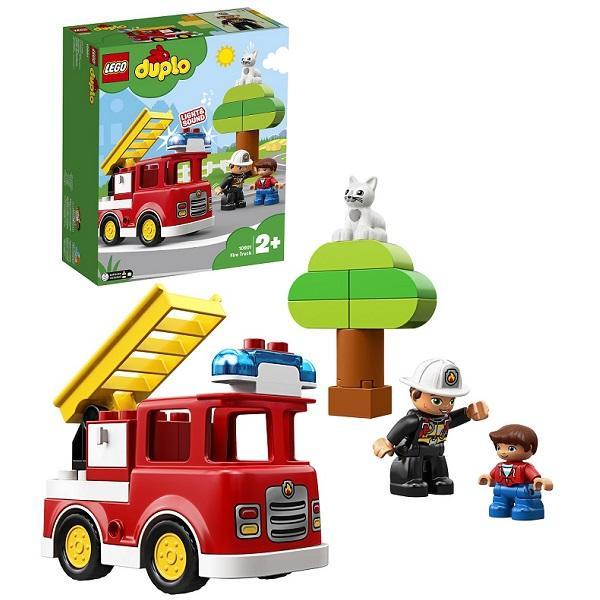 Конструктор LEGO Duplo (арт. 10901) «Пожарная машина»