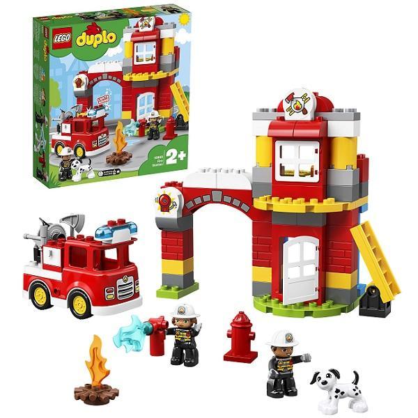 Конструктор LEGO Duplo (арт. 10903) «Пожарное депо»