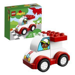 Конструктор LEGO Duplo (арт. 10860) «Мой первый гоночный автомобиль»