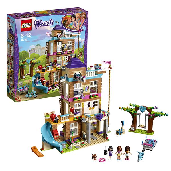 Конструктор LEGO Friends (арт. 41340) «Дом дружбы»