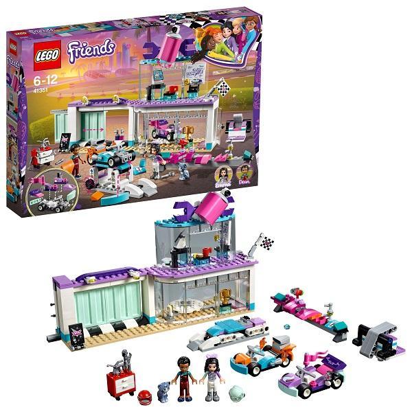 Конструктор LEGO Friends (арт. 41351) «Мастерская по тюнингу автомобилей»