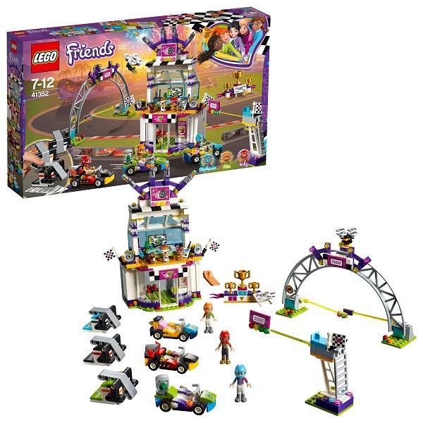 Конструктор LEGO Friends (арт. 41352) «Большая гонка»