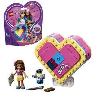 Конструктор LEGO Friends (арт. 41357) «Шкатулка-сердечко Оливии»