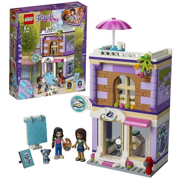 Конструктор LEGO Friends (арт. 41365) «Художественная студия Эммы»