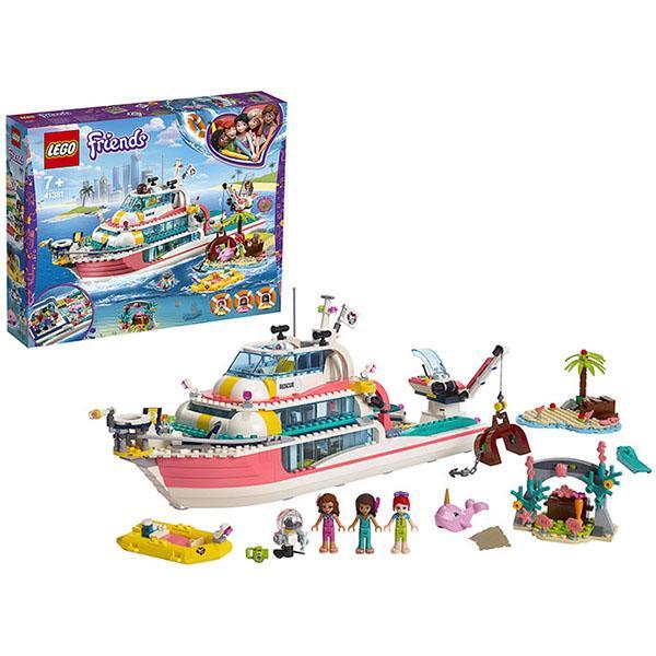 Конструктор LEGO Friends (арт. 41381) «Катер для спасательных операций»