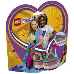 Конструктор LEGO Friends (арт. 41384) «Летняя шкатулка-сердечко для Андреа»