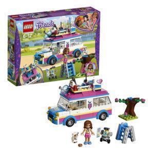 Конструктор LEGO Friends (арт. 41333) «Передвижная научная лаборатория Оливии»