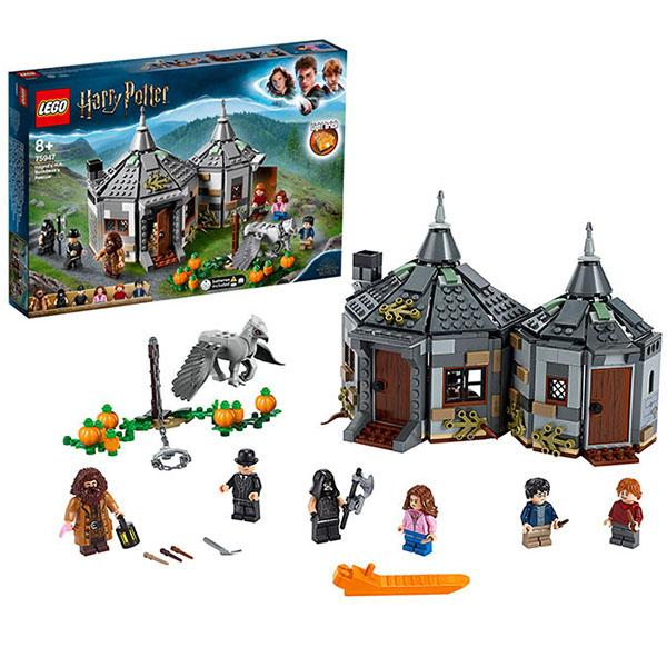 Конструктор LEGO Harry Potter (арт. 75947) «Хижина Хагрида: спасение Клювокрыла»
