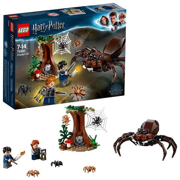 Конструктор LEGO Harry Potter (арт. 75950) «Логово Арагога»