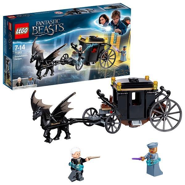 Конструктор LEGO Harry Potter (арт. 75951) «Побег Грин-де-Вальда»