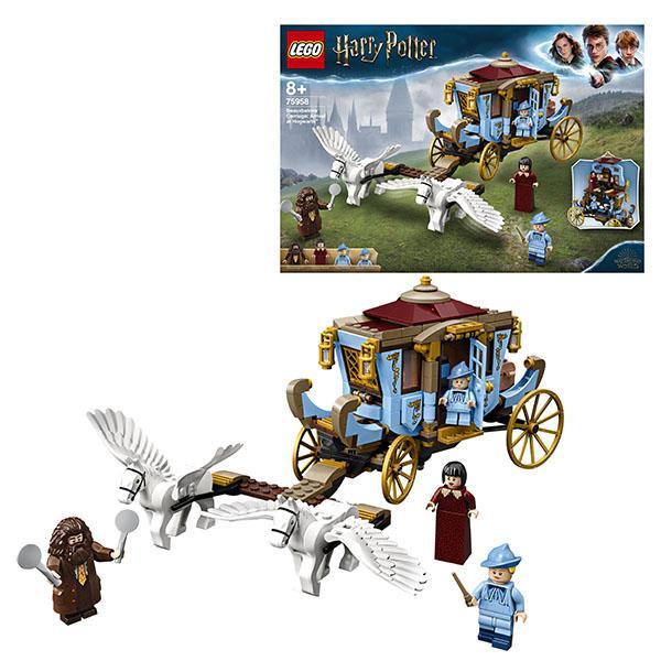 Конструктор LEGO Harry Potter (арт. 75958) «Карета школы Шармбатон: приезд в Хогвартс»