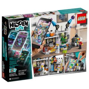 Конструктор LEGO Hidden Side (арт. 70418) «Лаборатория призраков»