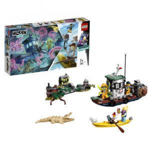 Конструктор LEGO Hidden Side (арт. 70419) «Старый рыбацкий корабль»