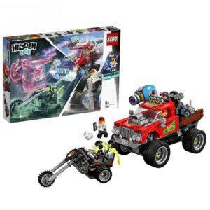 Конструктор LEGO Hidden Side (арт. 70421) «Трюковый грузовик Эль-Фуэго»