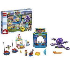 Конструктор LEGO Juniors (арт. 10770) «История игрушек-4: Парк аттракционов Базза и Вуди»