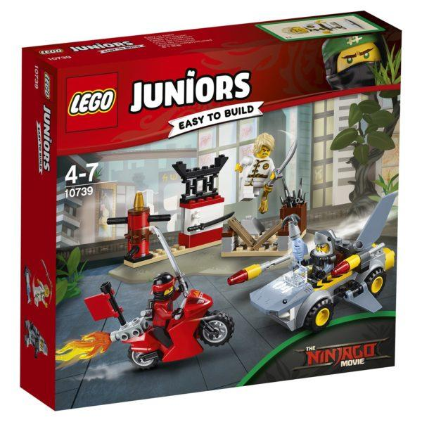 Конструктор LEGO Juniors (арт. 10739) «Нападение акулы»