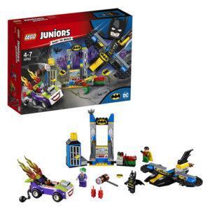 Конструктор LEGO Juniors (арт. 10753) «Нападение Джокера на Бэтпещеру»