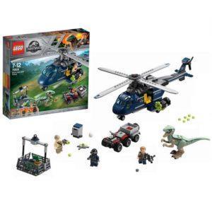 Конструктор LEGO Jurassic World (арт. 75928) «Погоня за Блю на вертолёте»