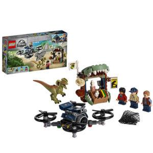 Конструктор LEGO Jurassic World (арт. 75934) «Побег дилофозавра»