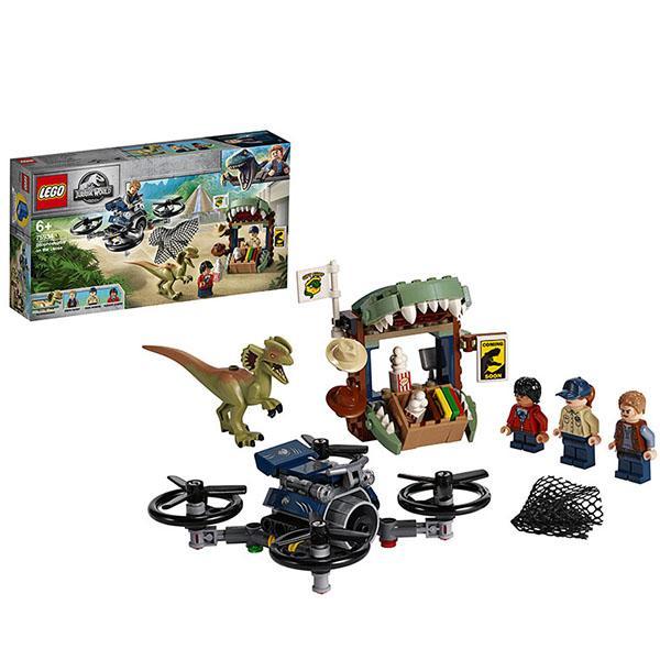 Конструктор LEGO Jurassic World (арт. 75934) «Побег дилофозавра»