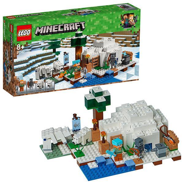 Конструктор LEGO Mineсraft (арт. 21142) «Иглу»