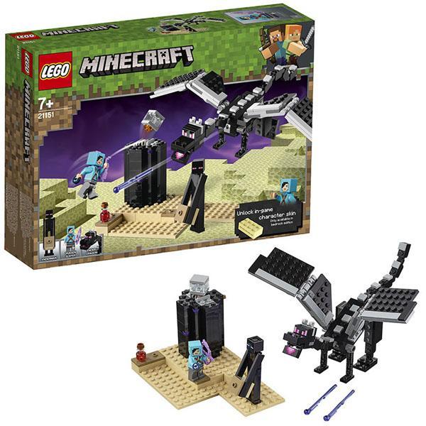 Конструктор LEGO Mineсraft (арт. 21151) «Последняя битва»