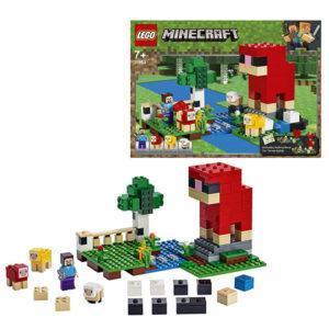 Конструктор LEGO Mineсraft (арт. 21153) «Шерстяная ферма»