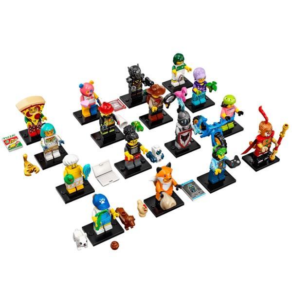 Конструктор LEGO Minifigures (арт. 71025) «Коллекция минифигурок №19: Профессии»