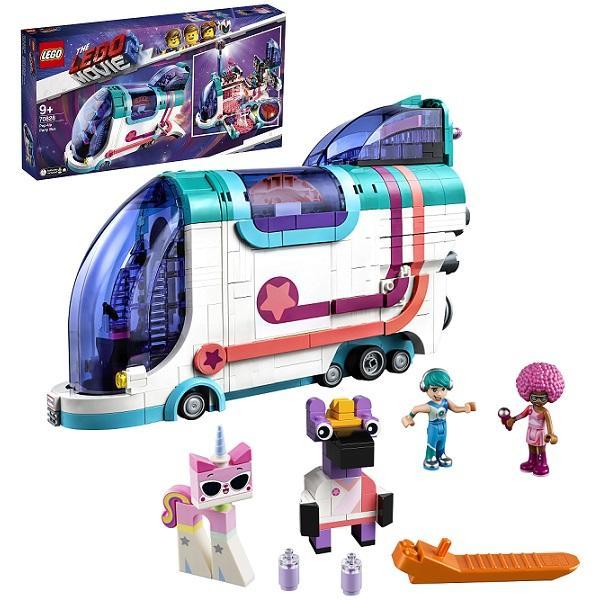 Конструктор LEGO Movie 2 (арт. 7082) «Автобус для вечеринки»