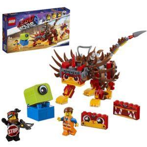 Конструктор LEGO Movie 2 (арт. 70827) «Ультра-Киса и воин Люси»