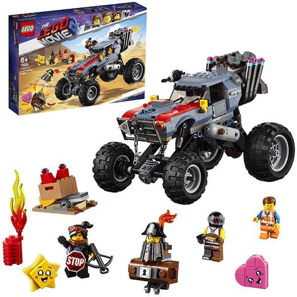 Конструктор LEGO Movie 2 (арт. 70829) «Побег Эммета и Дикарки на багги»