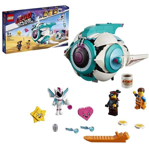 Конструктор LEGO Movie 2 (арт. 70830) «Подруженский Звездолёт Мими Катавасии»