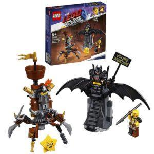 Конструктор LEGO Movie 2 (арт. 70836) «Боевой Бэтмен и Железная борода»