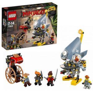 Конструктор LEGO Ninjago (арт. 70629) «Нападение пираньи»