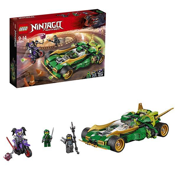 Конструктор LEGO Ninjago (арт. 70641) «Ночной вездеход ниндзя»