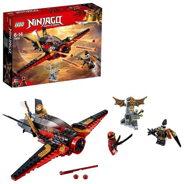 Конструктор LEGO Ninjago (арт. 70650) «Крыло судьбы»