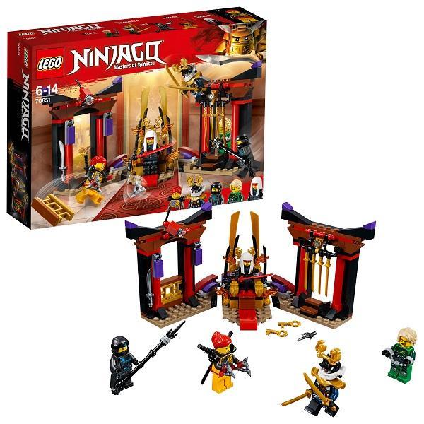 Конструктор LEGO Ninjago (арт. 70651) «Решающий Бой в Тронном Зале»