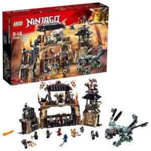 Конструктор LEGO Ninjago (арт. 70655) «Пещера Драконов»