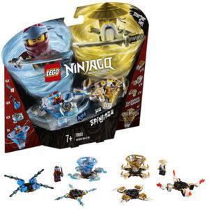 Конструктор LEGO Ninjago (арт. 70663) «Ния и Ву - мастера Кружитцу»