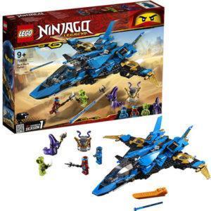 Конструктор LEGO Ninjago (арт. 70668) «Штурмовой истребитель Джея»