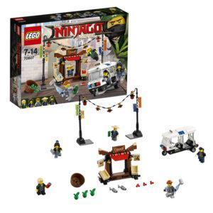 Конструктор LEGO Ninjago (арт. 70607) «Ограбление киоска в Ниндзяго Сити»