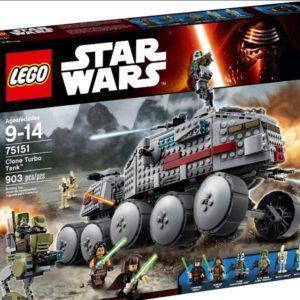 Конструктор LEGO Star Wars (арт. 75151) «Турботанк Клонов»