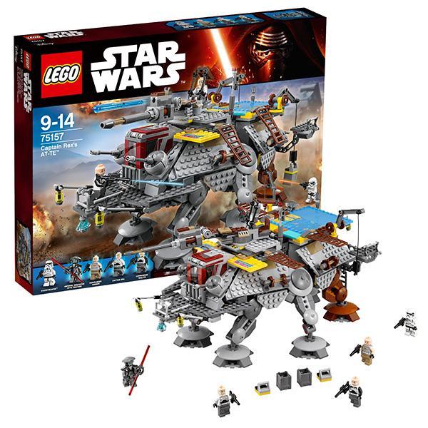 Конструктор LEGO Star Wars (арт. 75157) «Шагающий штурмовой вездеход AT-TE Рекса»