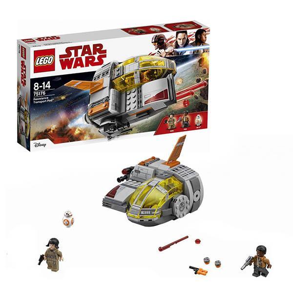 Конструктор LEGO Star Wars (арт. 75176) «Транспортный корабль Сопротивления»